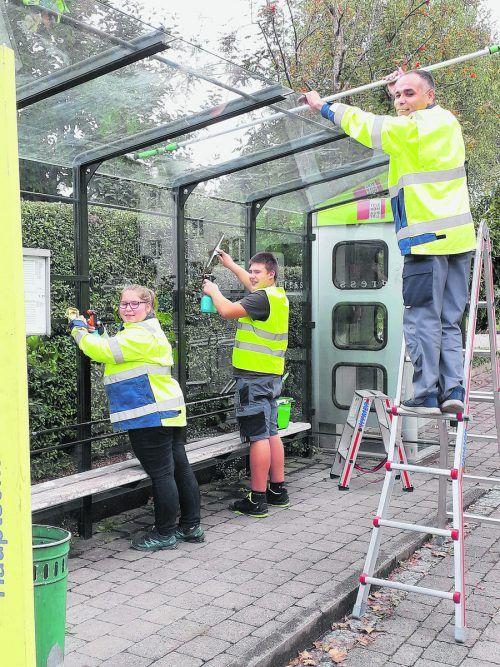 Das große Saubermachen im Walgau kann wieder beginnen. Caritas