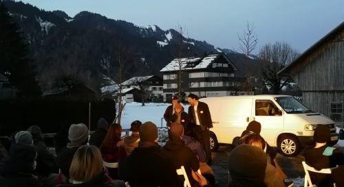 Das Premierenpublikum in Hittisau war begeistert. Nadine Schütze