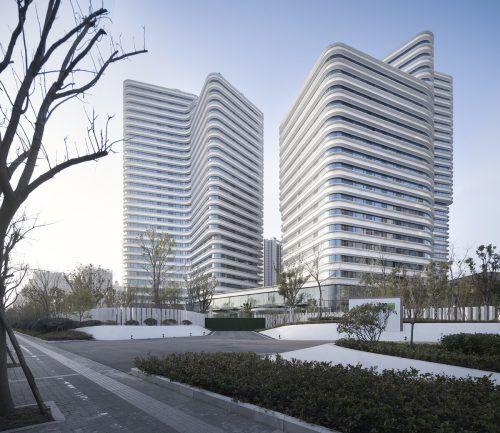 Das Wohnprojekt von Baumschlager Eberle Architekten in China. Wu Qingshan