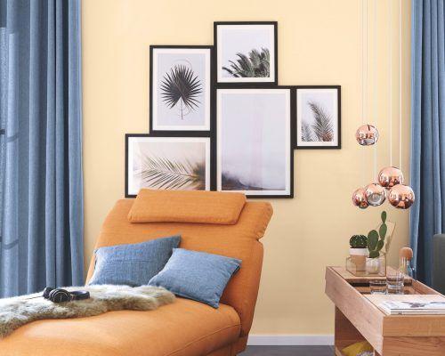 Den natürlichen, verspielten Boho-Style bringen Farben wie das fröhliche Sweet Home oder Duft des Orients an die Wand. epr/Alpina
