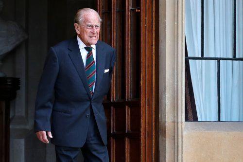 Der 99-jährige Ehemann von Königin Elizabeth II. muss noch für einige Tage im Krankenhaus bleiben. AFP