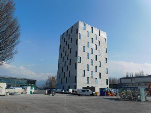 Das Amedia-Hotel in Lustenau soll im Frühsommer eröffnet werden. MM