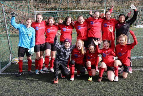 Der Mädchen- und Frauenfußball hat in den letzten Jahren in Rankweil einen hohen Stellenwert bekommen.Luggi KNobel