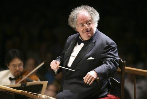 Der Maestro war von 1999 bis 2004 Chefdirigent der Münchner Philharmoniker. ap