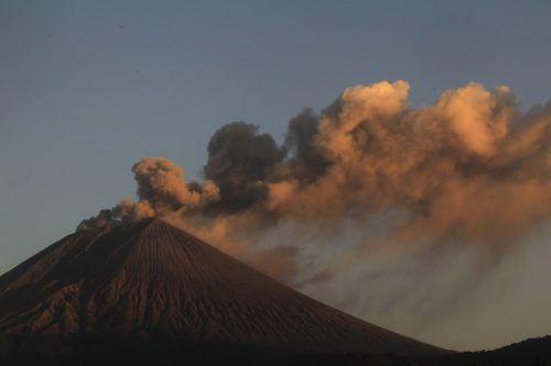 Der Vulkan San Cristobal war zuletzt im April 2016 ausgebrochen. Rts