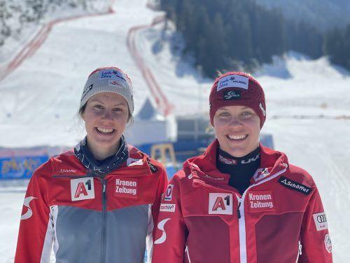 Die beiden Magdalenas aus Vorarlberg, Kappaurer und Egger, gehen in den nächsten drei Tagen bei der Junioren-Ski-WM in Bansko auf Medaillenjagd. Schrammel