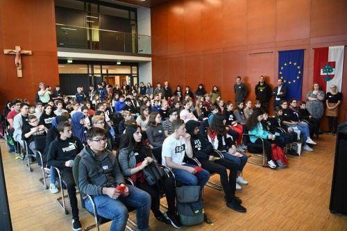 Bereits seit 1996 gibt es die Klassensprecher- und -sprecherinnentreffenStadt