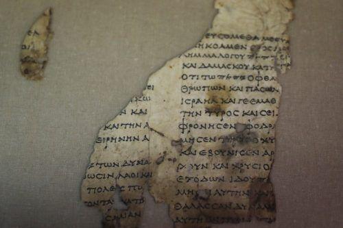 Die Dutzenden Fragmente stammen aus der Zeit um 130 nach Christus. Reuters