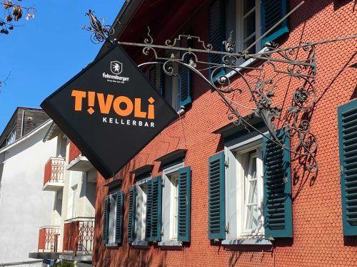 Die etwas versteckt gelegene Tivoli-Kellerbar in Dornbirn wird schließen. VN/Rau