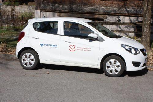 Die Fahrzeuge des KPV Rankweil bekommen direkt am Standort Unterstellplätze.VN/TK