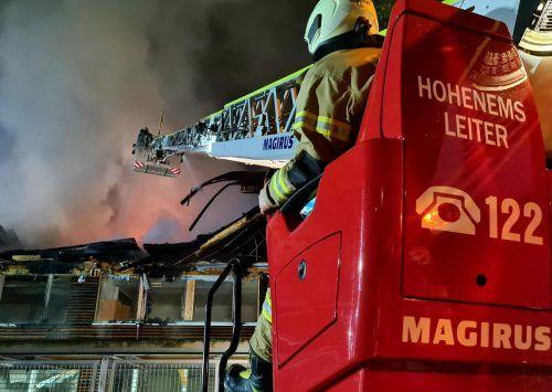 Die Feuerwehr in Hohenems musste sich – wie andere Organisationen auch – sehr auf die Coronasituation einstellen.mima