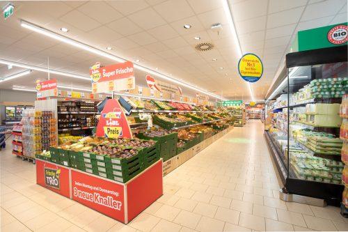 In den Lidl-Regalen finden sich auch zahlreiche Produkte aus Vorarlberg. Fa
