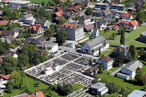 Die Pfarrkirche St. Sebastian zu ihrem Jubiläum (l.) – in den letzten 125 Jahren hat sie sich im steten Wandel befunden, wie der Vergleich mit dem Bild aus dem Jahr 1906 (r.) zeigt.