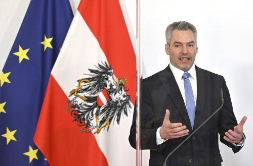 Die Plänen von Innenminister Nehammer sehen ein zweiteiliges Amt vor. APA