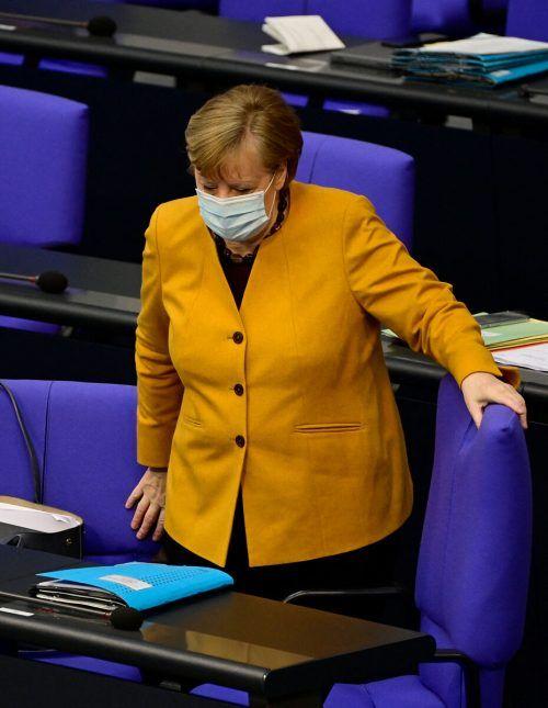 Die Regierungschefin bat die Deutschen um Verzeihung.AFP