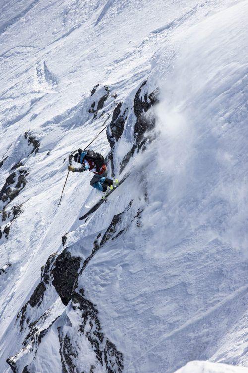 Die Schneeverhältnisse waren am Bec des Rosses nicht leicht, aber Tao Kreibich zeigte auf. Ddaher