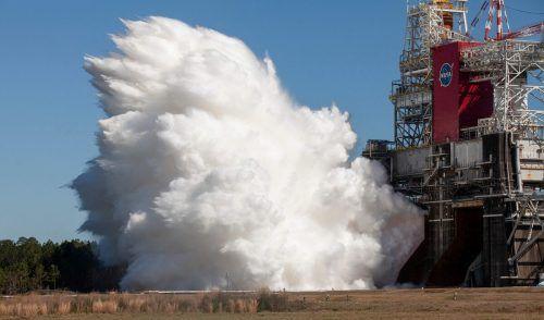 Die SLS sei die leistungsstärkste Rakete, die die Nasa jemals gebaut hat. AFP