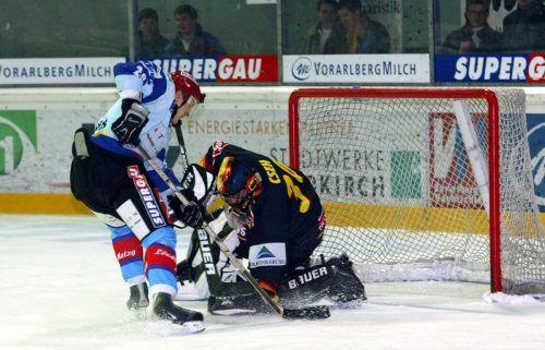 Die VEU Feldkirch spielte zuletzt in der Saison 2003/04 im Eishockey-Oberhaus.VN-Archiv