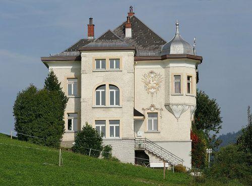 Die Villa Diana in Krumbach stammt aus dem Jahr 1907.F. Böhringer