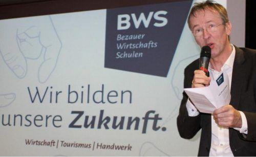 """Dir. Mario Hammerer: """"Stolz auf die Schulgemeinschaft und begeistert von der Veranstaltung."""" STP/5"""