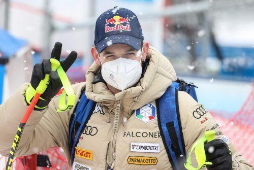 Dominik Paris war in Saalbach der Schnellste, gewann aber nicht.gepa
