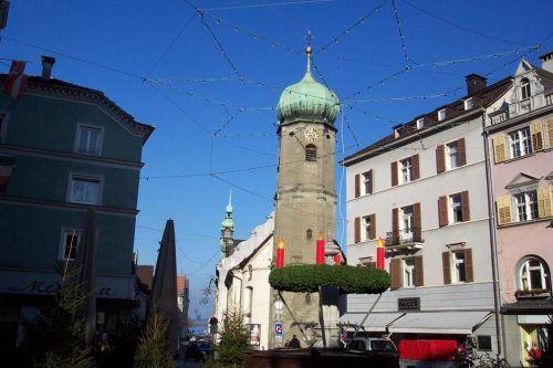 Gedenkwochen für Verstorbene in der Seekapelle in Bregenz.
