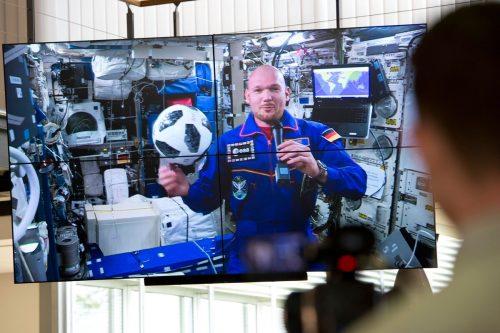 """Einer der aktuell wohl bekanntesten Astronauten ist der Deutsche Alexander Gerst, auch """"Astro-Alex"""" genannt. Er kehrte im Dezember 2018 von der ISS zurück. AFP"""