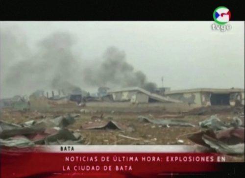 Es habe mindestens fünf Explosionen gegeben, hieß es. Reuters