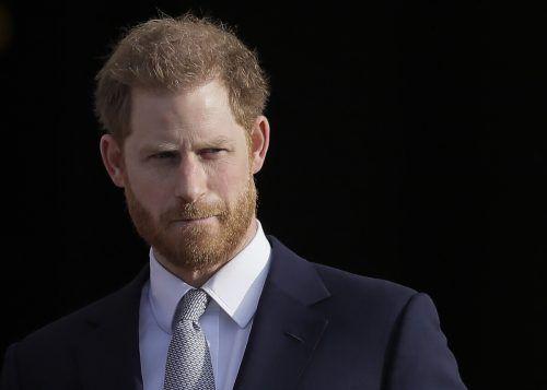 Prinz Harry ist zum ersten Mal seit März 2020 nach Hause zurückgekehrt. ap