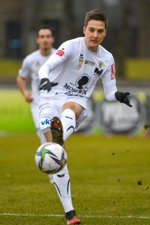 Florian Pirirsch trifft auf seinen alten Arbeitgeber Rapid Wien II.gepa