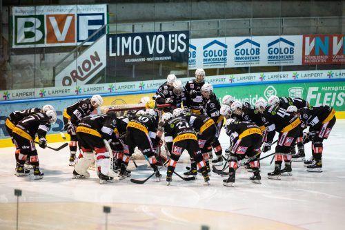 """Für die Mannschaft der VEU Feldkirch heißt es """"bitte warten"""". Der Aufnahmeantrag in die Ice Liga fand keine Zustimmung.sams"""