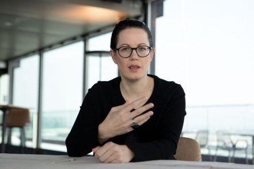 Gerda Holzinger-Burgstaller, Chefin der Erste Bank Österreich. afp