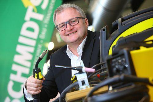 Geschäftsführer Thomas Fritz. Die Firmengruppe hat 720 Mitarbeiter. vn