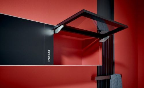 Grass punktet bei German Design Award mit dem System Kinvaro. Fa