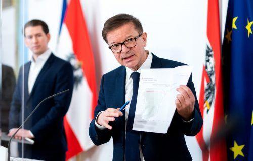 Grüner Pass: Gesundheitsminister Anschober kann Regeln festlegen.APA