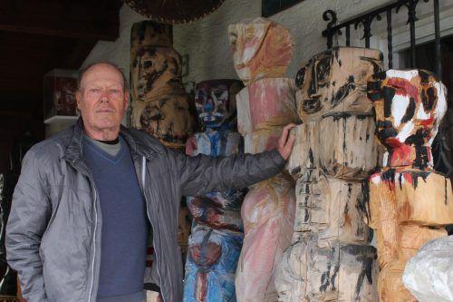 """Gernot Riedmann: """"Mit der Kunst wäre ich verhungert, aber mein Beruf eröffnete viele Möglichkeiten."""""""
