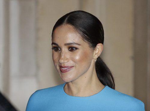 Herzogin Meghan sei traurig über die jüngste Attacke gegen ihre Person, ließ ihr Sprecher verlauten. AP