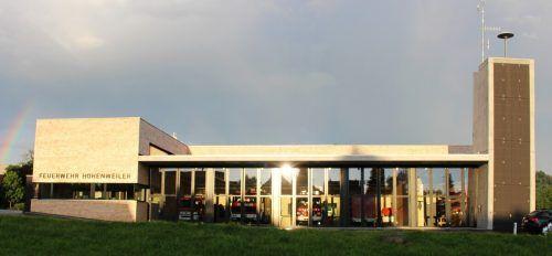 Die Hohenweiler Feuerwehr und das Planungsbüro raumhochrosen wurden für ihr Projekt des neuen Gerätehauses international ausgezeichnet.