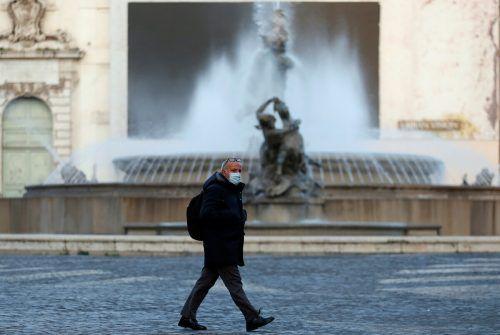 In der Hauptstadt Rom gelten wieder strenge Beschränkungen. reuters