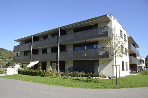 In Tosters gibt es bereits seit Herbst 2017 als Pilotprojekt klimagerechte und nachhaltige Mehrparteienwohnhäuser. Energieinstitut Vorarlberg