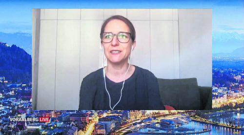 """In """"Vorarlberg live"""" referierte Veronika Hofinger über ihre Studie zu den Gewalterfahrungen von Häftlingen in Justizanstalten."""