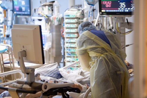 In Wien gibt es so vieleCovid-Intensivpatienten wie noch nie.DPA