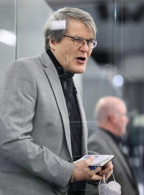 Kai Suikkanen kann auf eine gute Arbeit als Headcoach des Dornbirner EC in der abgelaufenen Saison zurückblicken.gepa