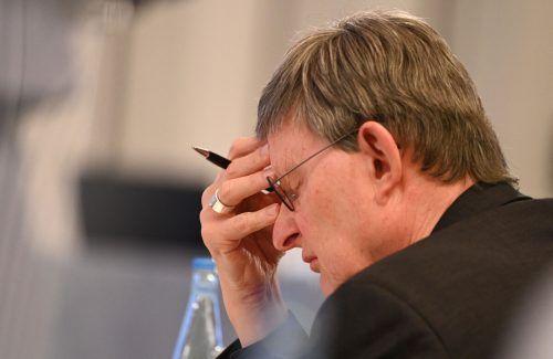 Kardinal Rainer Maria Woelki zieht personelle Konsequenzen. AFP