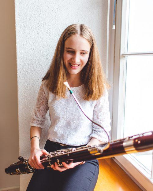 Katharina Mätzler motiviert sich mit dem Vorsatz, nach Corona wieder Menschen mit Musik zu beschenken.Novak