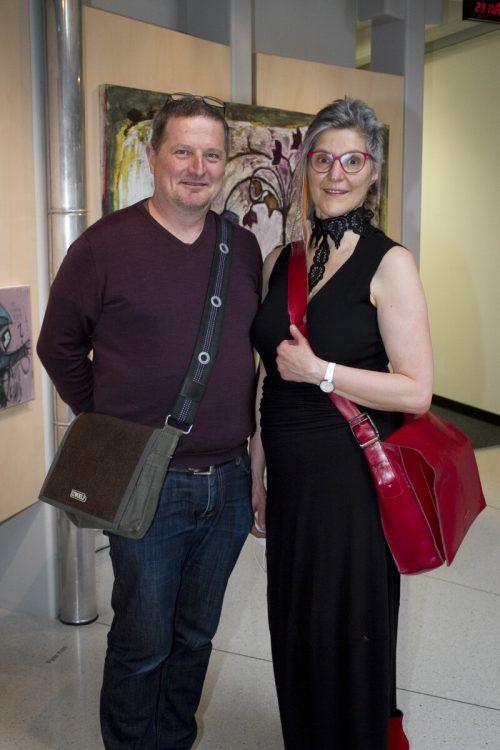 Künstlerpaar Michael Mittermayer und Martina Lehner.