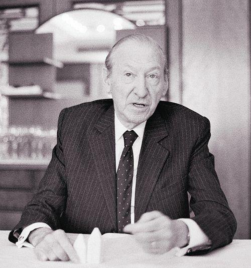 Kurt Waldheim war von 1986 bis 1992 Bundespräsident Österreichs.VN/Zündel