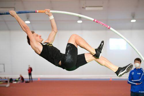 Leichtathlet Daniel Bertschler und seine Profi-Kollegen können auch in Coronazeiten glänzen. Für Hobbysportler sind die Einschränkungen massiver.ÖLVA/NEvismal