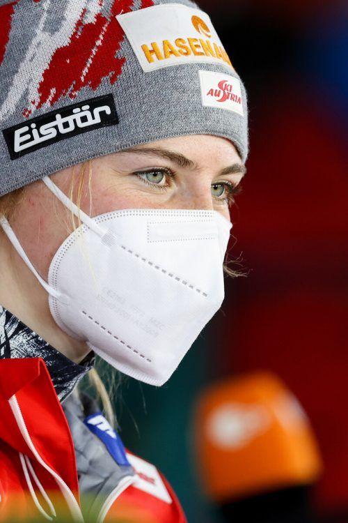Marita Kramer unterstrich in der Qualifikation schon ihre Favoritenrolle. gepa