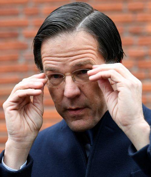 Mark Rutte ist seit 2010 Ministerpräsident der Niederlande. reuters